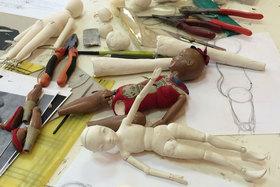 После курса каждый ученик уходит с куклой, сделанной собственными руками