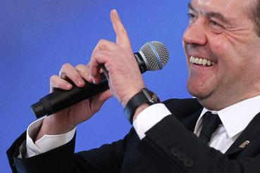 Выступление премьера Дмитрия Медведева на пленарном заседании