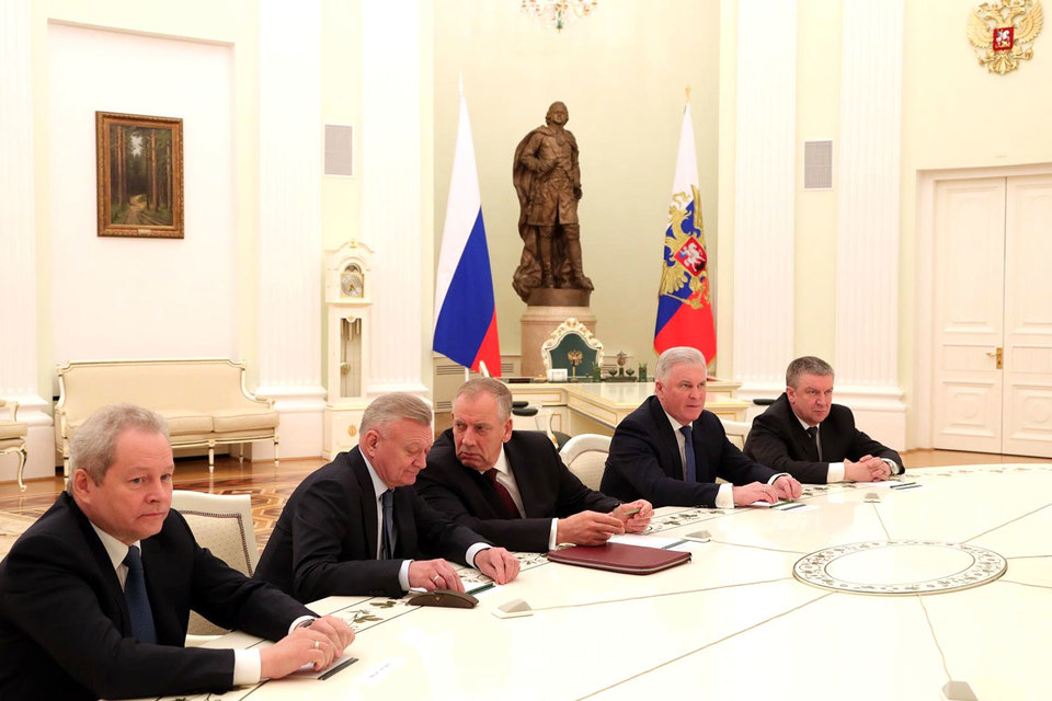 Пять из шести отставников 2017 г. удостоились специального приема в Кремле