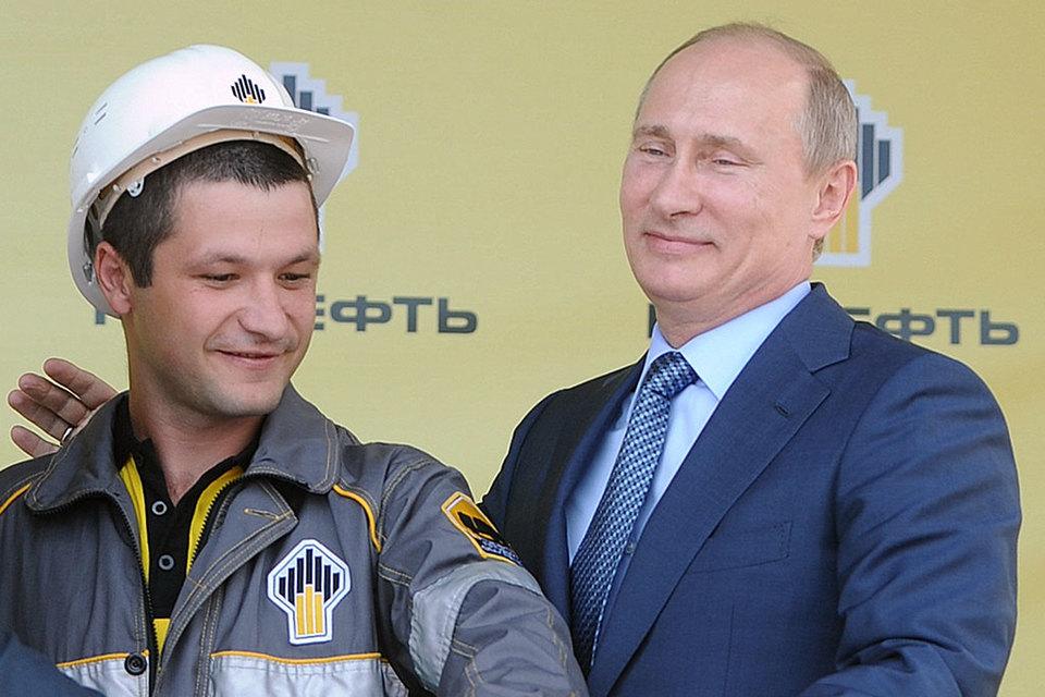 Путин наградил орденами менеджеров «Роснефти»