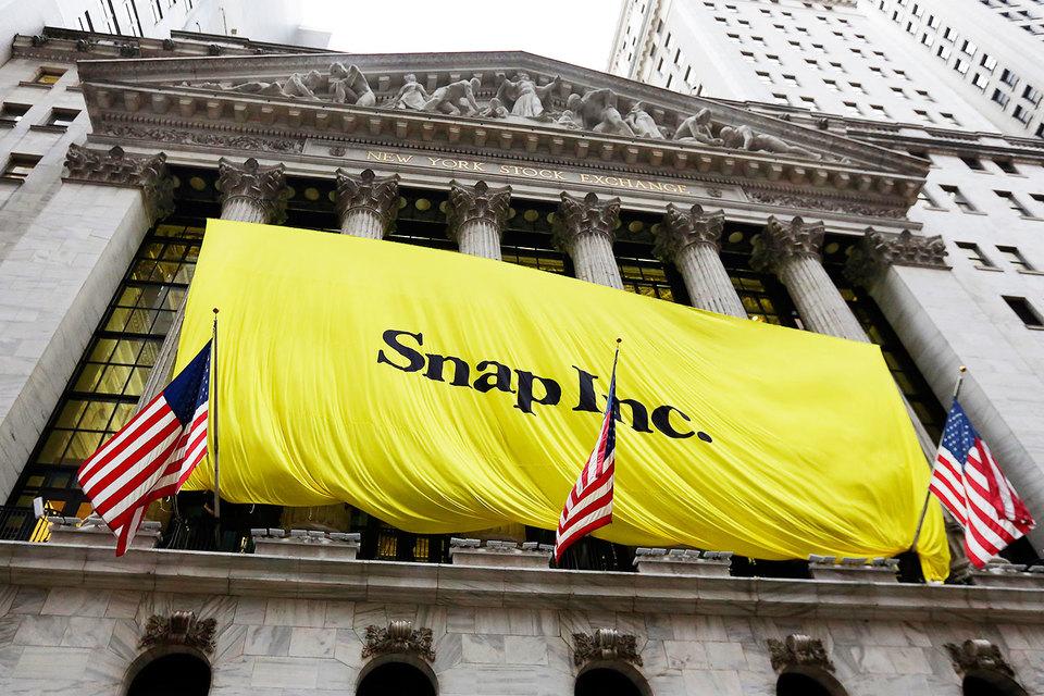 Состояние основоположников Snapchat превысило $10 млрд после выхода компании наIPO