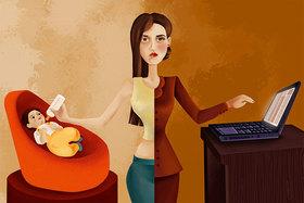 Современная женщина часто стоит перед дилеммой: дом или работа?