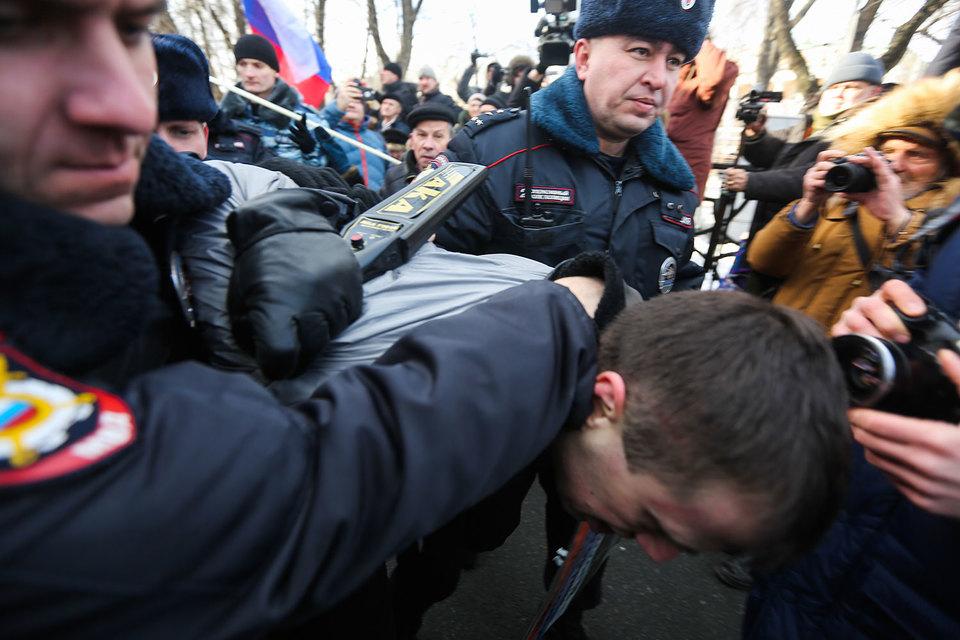 Верховный суд дал неоднозначный отзыв на законопроект ЛДПР об отмене статьи 212.1 Уголовного кодекса, карающей за неоднократное нарушение правил проведения митингов