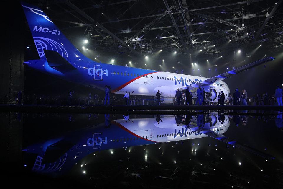 Начало поставок самолетов МС-21 запланировано наосень 2018
