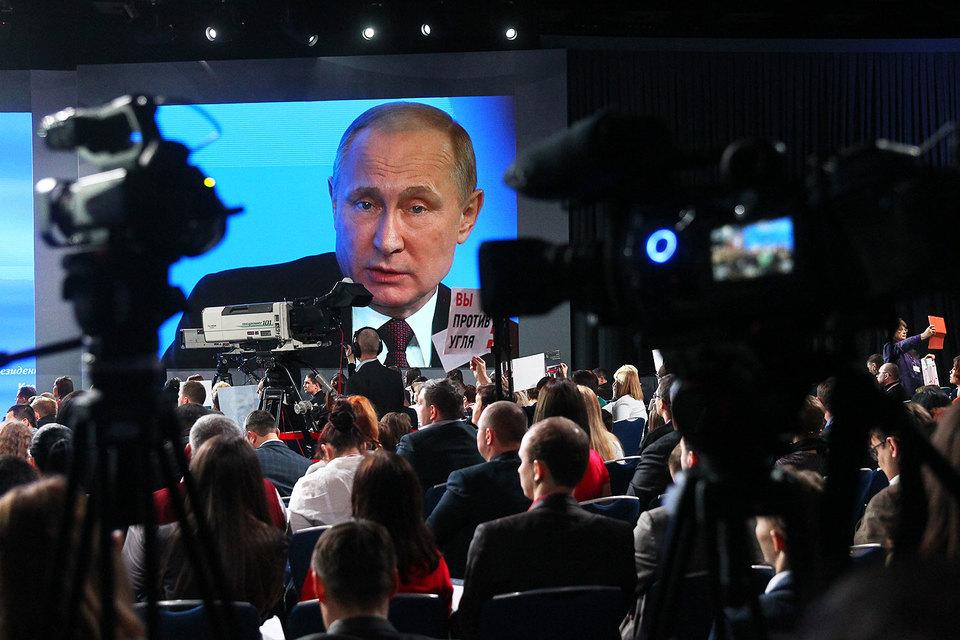 На большой пресс-конференции Путина в декабре 2016 г. журналисты попросили за Севастиди
