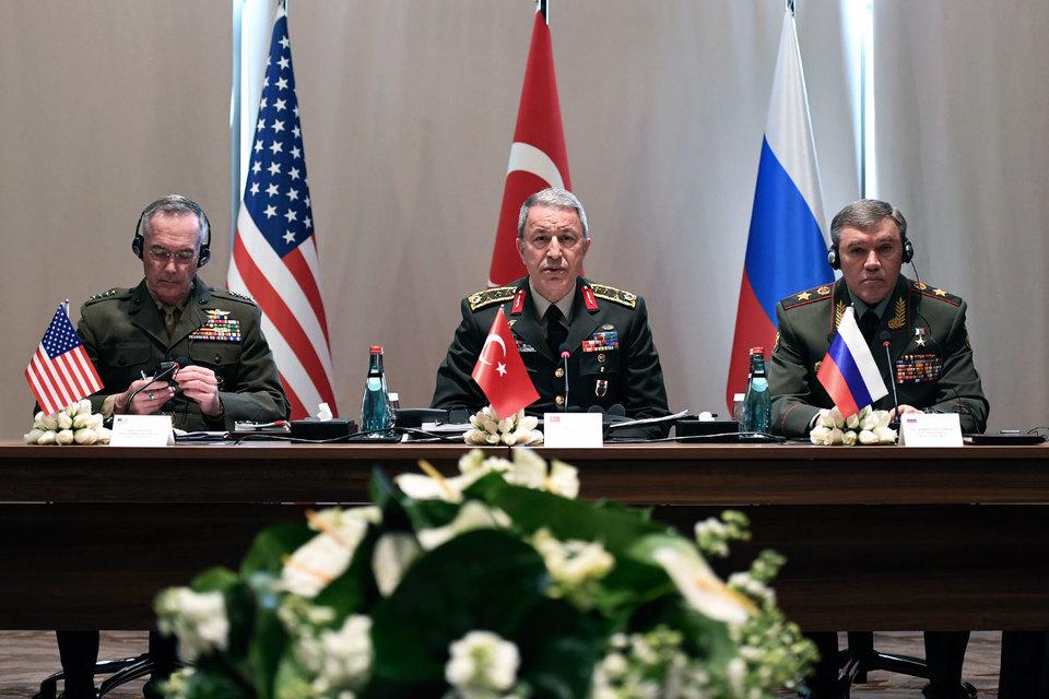 Госдеп неисключает новых встреч руководителей генштабов РФ, США иТурции