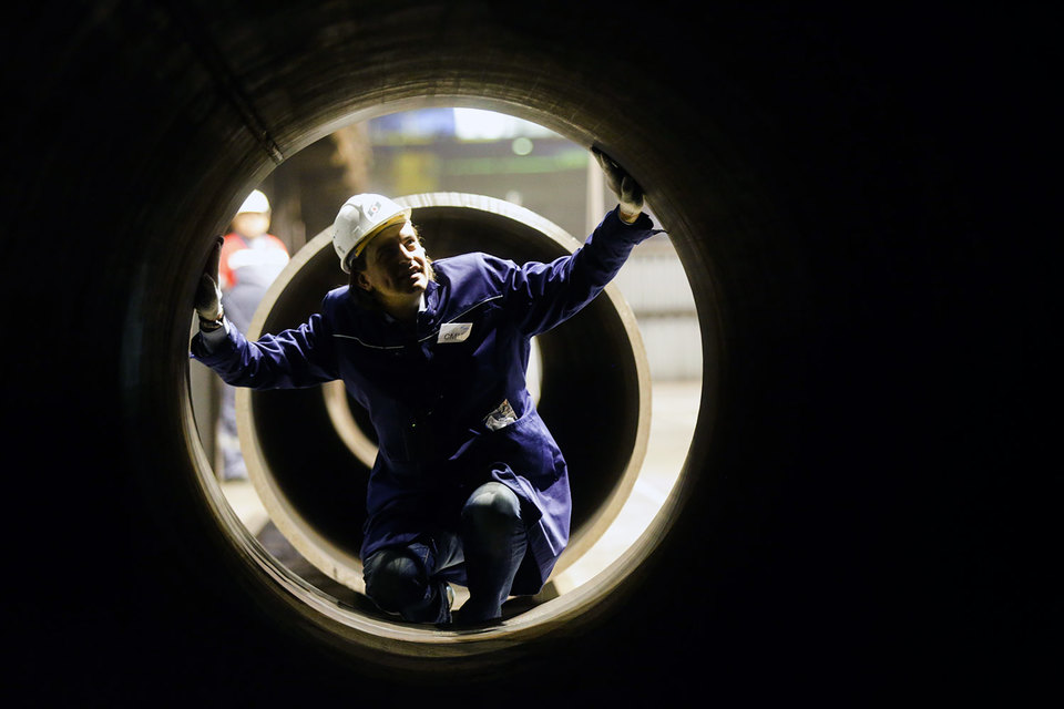 «Газпром» обязался разрешить реэкспорт газа вряде странЕС