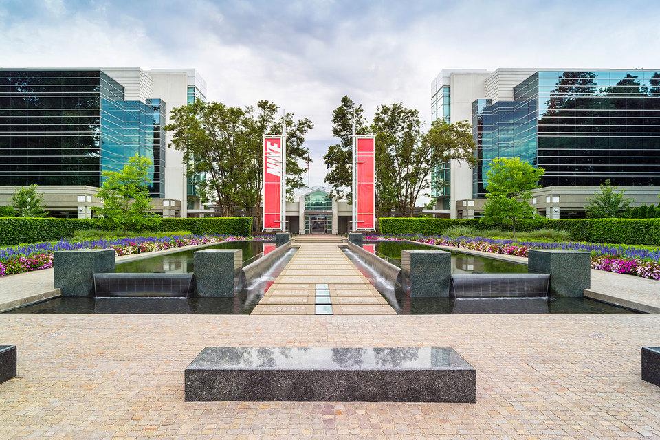 Штаб-квартира Nike в Бивертоне (штат Орегон)