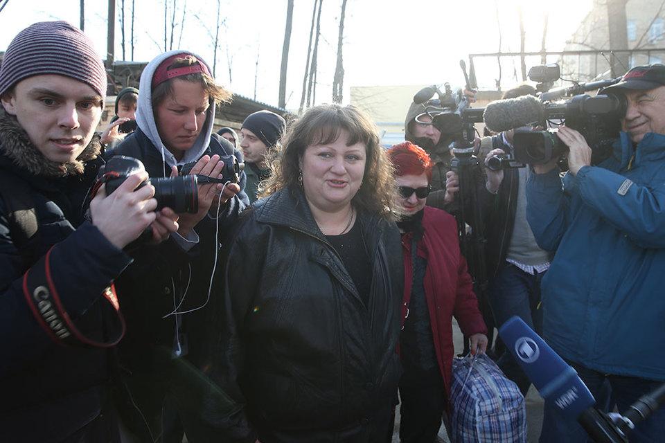 Верховный суд оставил Оксану Севастиди виновной в госизмене, но смягчил приговор, по которому ей уже не придется отбывать наказание