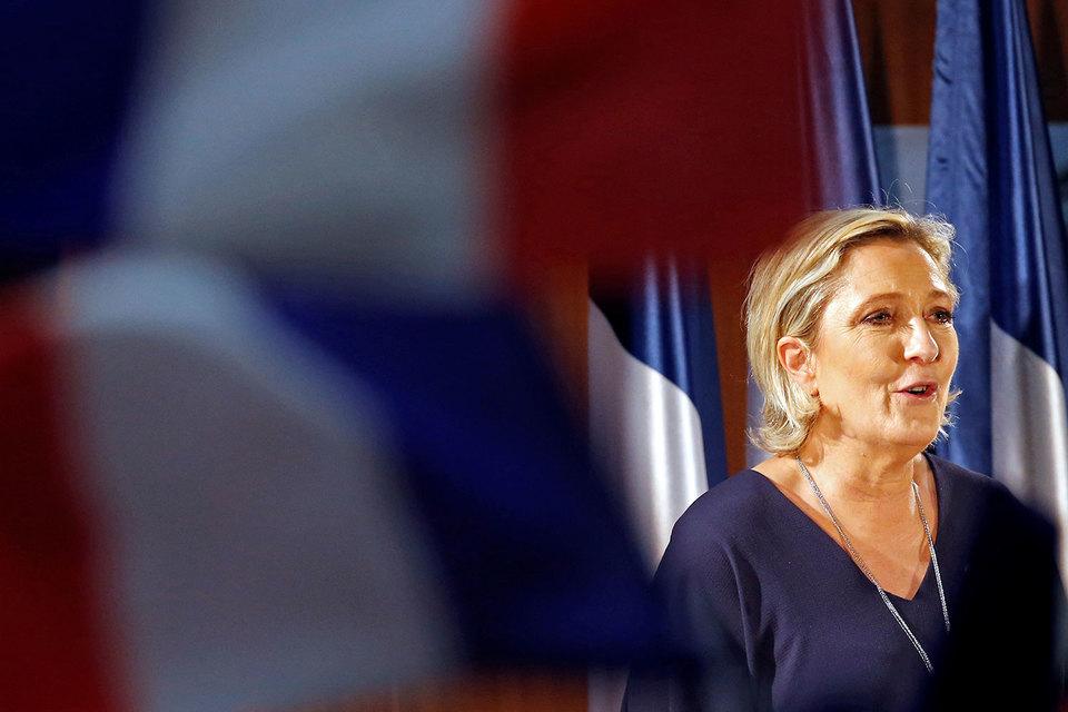 Марин ЛеПен желает сделать Российскую Федерацию торговым партнером Франции наравне сСША