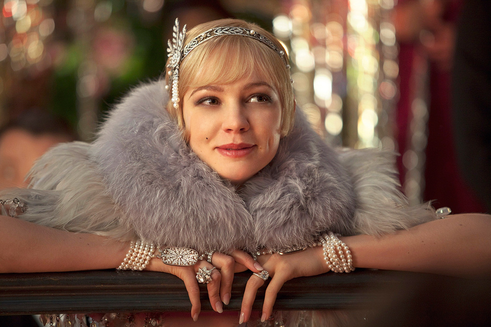 Актриса Кэри Маллиган в украшениях Tiffany & Co., кадр из фильма «Великий Гэтсби»