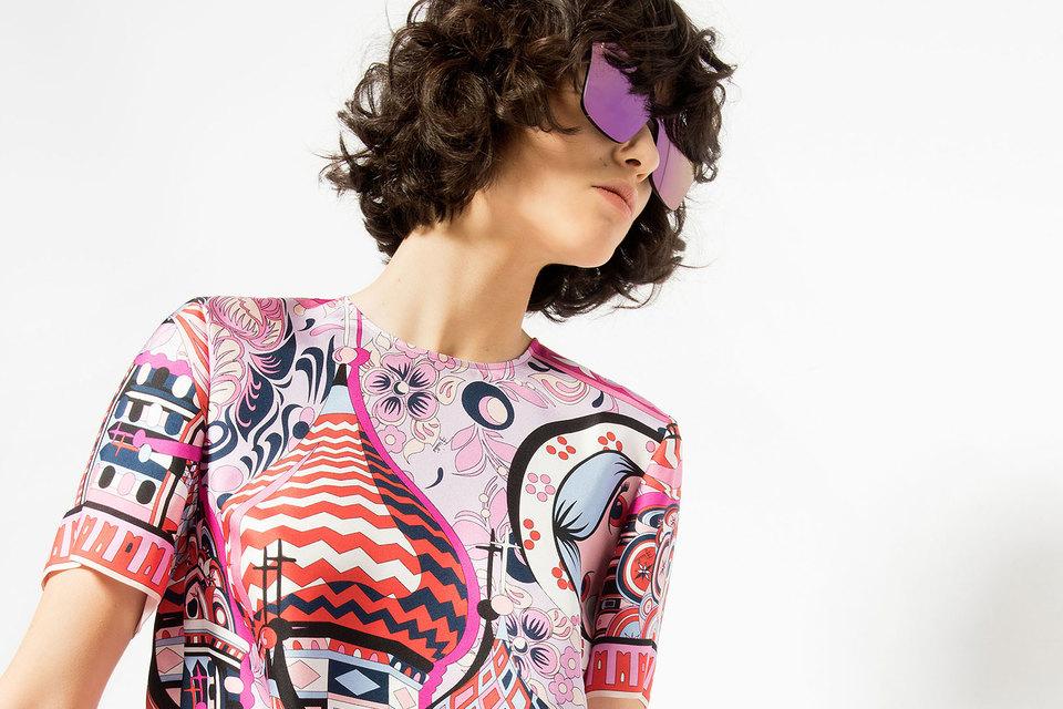 Emilio Pucci впервые создала коллекцию специально для Москвы