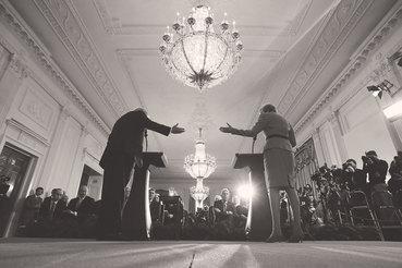 Дональд Трамп и Тереза Мэй хотят вести мир за собой, но без пропаганды общих ценностей
