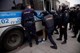 Участников протестов пока наказывают только по административной линии