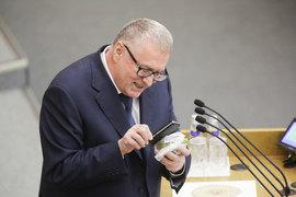 Владимир Жириновский далеко оторвался от своих интернет-конкурентов