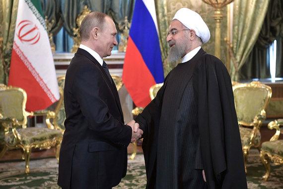 Президент Ирана продемонстрировал в Кремле отсутствие противоречий с Россией