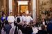 Команда поваров во главе с шеф-поваром  резиденции посла Франции в Москве Томасом Сепульведой