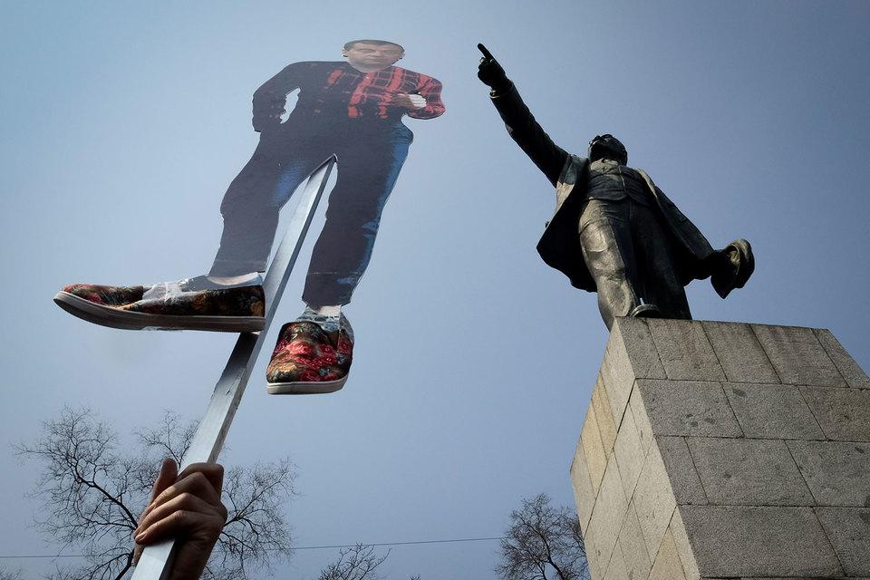 Больше всего протестующих оказалось в областях снизкой явкой навыборах