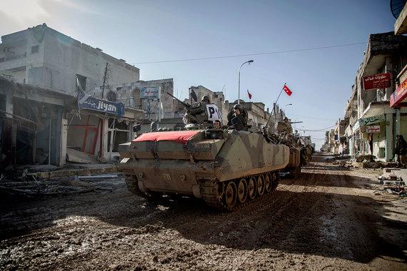 Турция из Сирии пока не уйдет