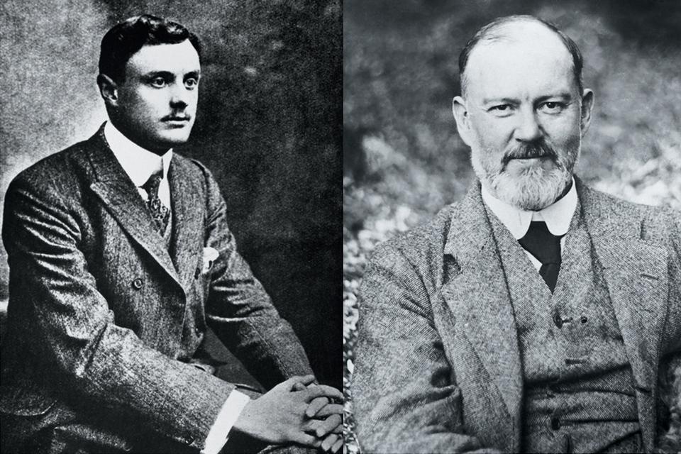 Отцы-основатели бренда Rolls-Royce: Чарлз Стюарт Роллс и Фредерик Генри Ройс