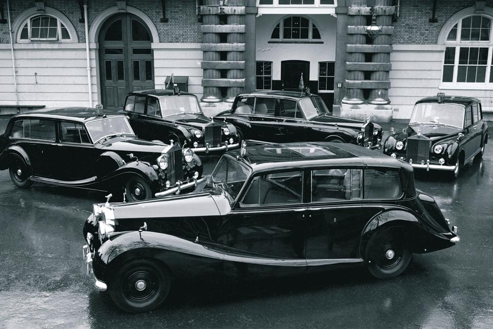 Rolls-Royce английской королевы Елизаветы II