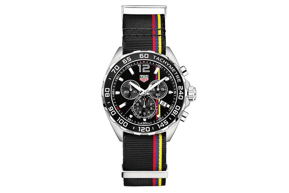 Именно на фестивале в Гудвуде TAG Heuer представил свою очередную новинку – часы TAG Heuer James Hunt Limited Edition