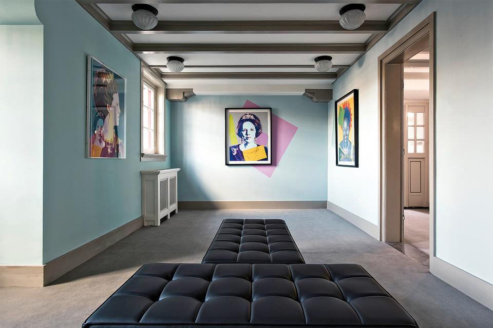 Экспозиция музея Moco в Амстердаме