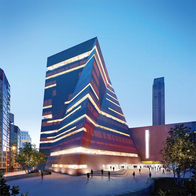 Новый корпус лондонской галереи Tate Modern