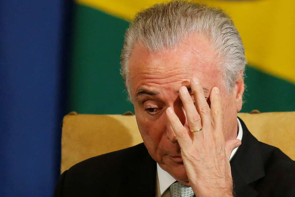 ВБразилии под следствием находятся девять министров