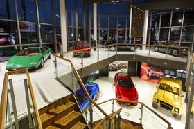 Музей Lamborghini в Сант-Агата- Болоньезе
