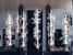Коллекция светильников Past & Future голландского дизайнера Пита Хайн Эка для венецианской мануфактуры Veronese. Каждая лампа состоит из нескольких частей, их можно снимать и менять местами, наподобие конструктора