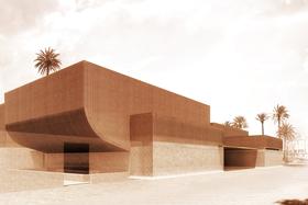 Здание музея в Марракеше построено архитектурным бюро Studio Ko