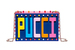 Emilio Pucci, клатч-минодьер из пластика, в стиле поп-арт