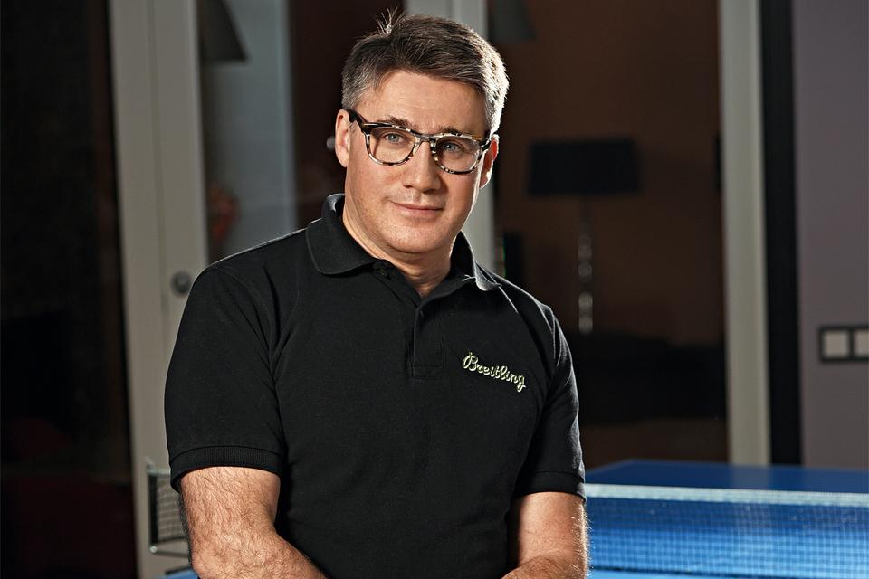 Арсен Балаян, глава представительства Breitling в России и СНГ