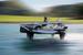 Такое полускольжение-полуполет катамарана означает минимальное сопротивление воды,  более плавное движение, меньше подбросов и подскоков на волнах