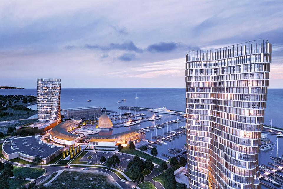 Общая сумма инвестиций в Ayia Napa Marina оценивается в 220 млн евро