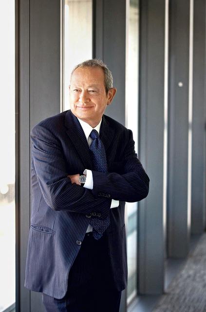 Египетский миллиардер и отец-основатель проекта Ayia Napa Marina Нагиб Савирис