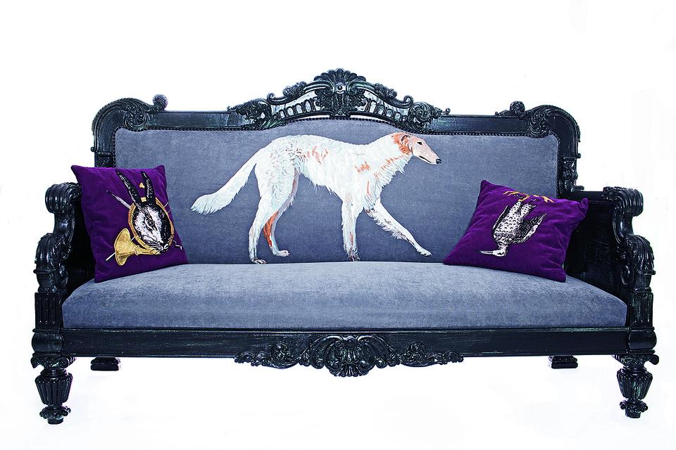 Из коллекции Tatyana Parfionova Home Design: диван