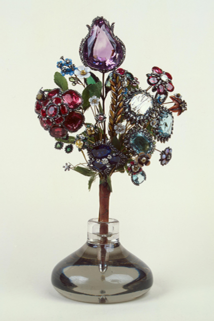 Букет из драгоценных камней, 1740-е годы
