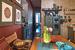 Цветные батики в рамах - произведения хозяйки дома