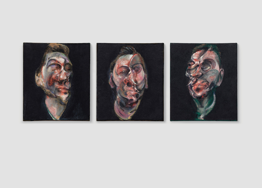 Francis Bacon «Three Studies for a Portrait of George Dyer» 1963