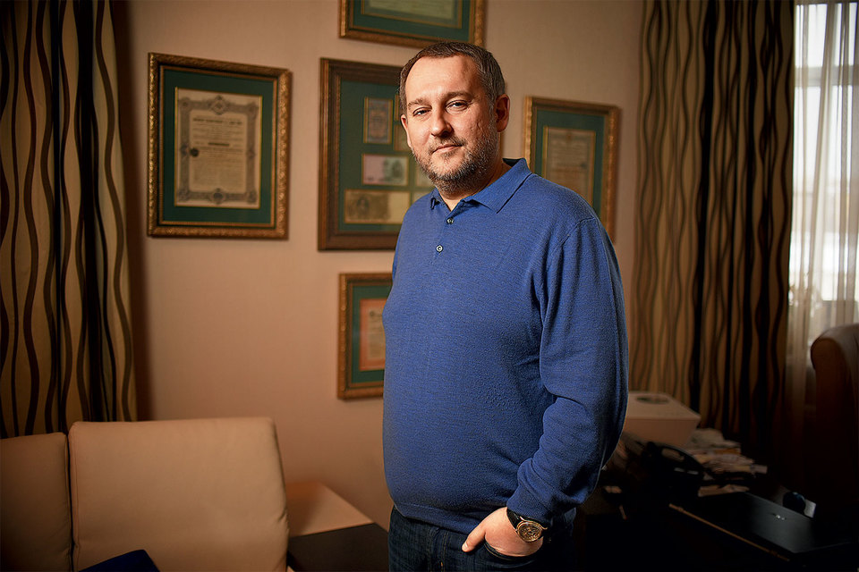 Алексей Богданов, совладелец часового завода «Ника»