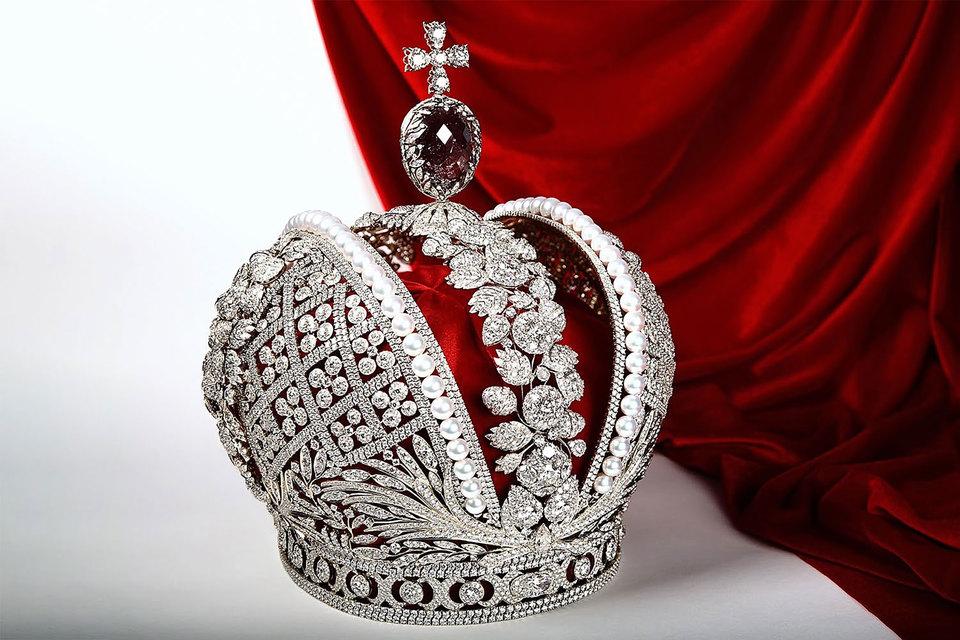 Большая императорская корона, 1762 год. Иеремия Позье