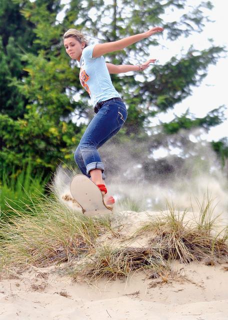 В Sand Master Park (США) есть склоны как для новичков, так и для продвинутых лыжников и бордистов
