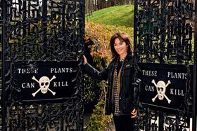 Герцогиня Нортумберлендская Джейн Перси разбила в родовом замке Алник необычный сад