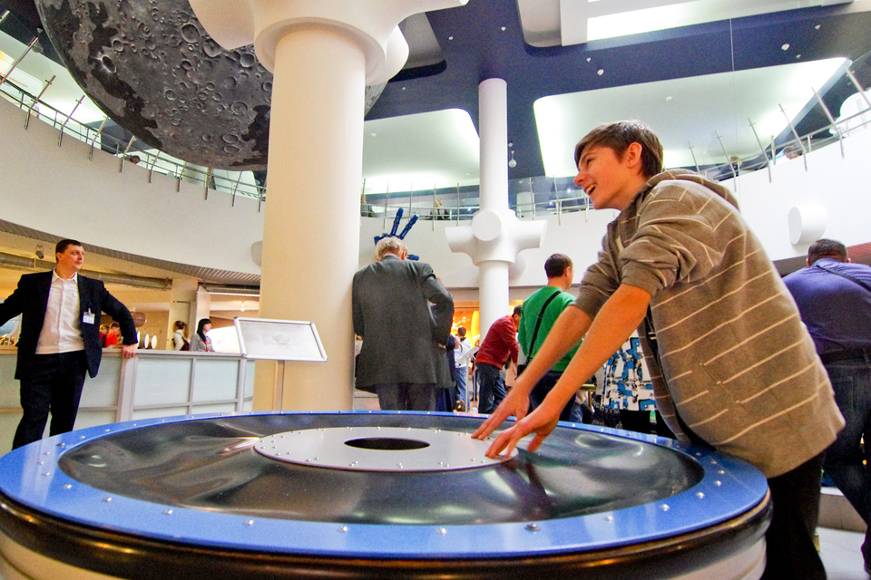 Интерактивный музей «Лунариум» при столичном планетарии предлагает программы по астрономии