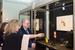 Директор Государственного Музея Эрмитаж, профессор Михаил  Пиотровский осматривает выставку