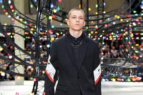 Образ из мужской коллекции Dior Homme, весна -лето 2017