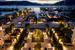 Так выглядит Regent Porto Montenegro в вечернее время