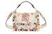 Fendi: Кожаная сумка с вышивкой и аппликацией, весна-лето 2017